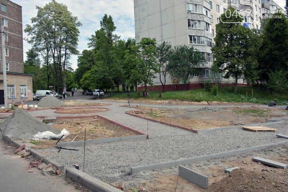 На Рокосовського створюють новий сквер, фото-2