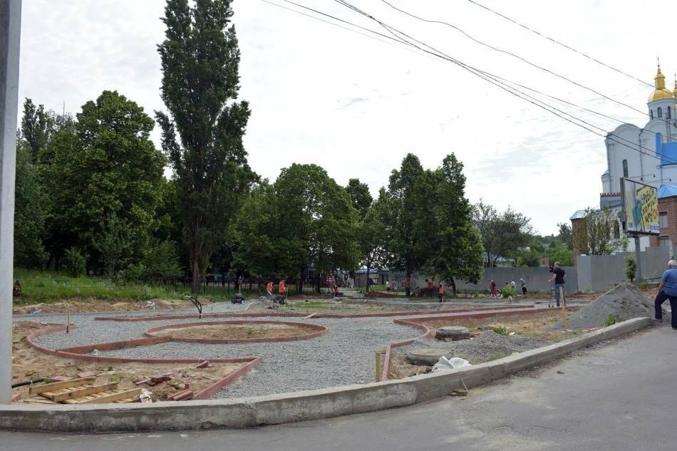 На Рокосовського створюють новий сквер, фото-3