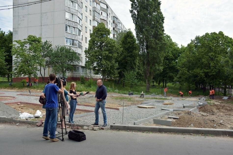 На Рокосовського створюють новий сквер, фото-7