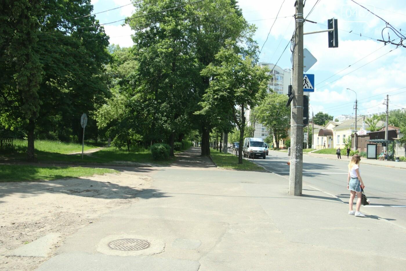 У Чернігові розпочався ремонт тротуарів на вулиці Шевченка, фото-4