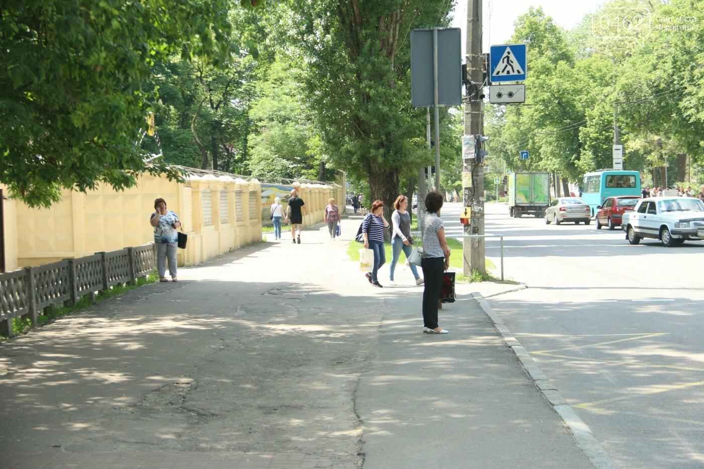 У Чернігові розпочався ремонт тротуарів на вулиці Шевченка, фото-9