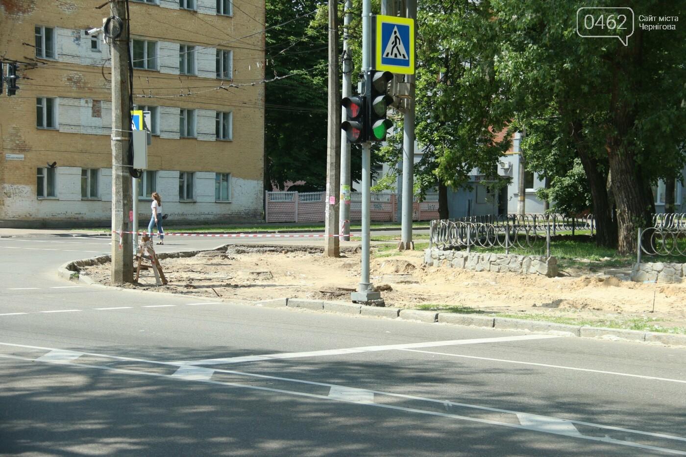 У Чернігові розпочався ремонт тротуарів на вулиці Шевченка, фото-15