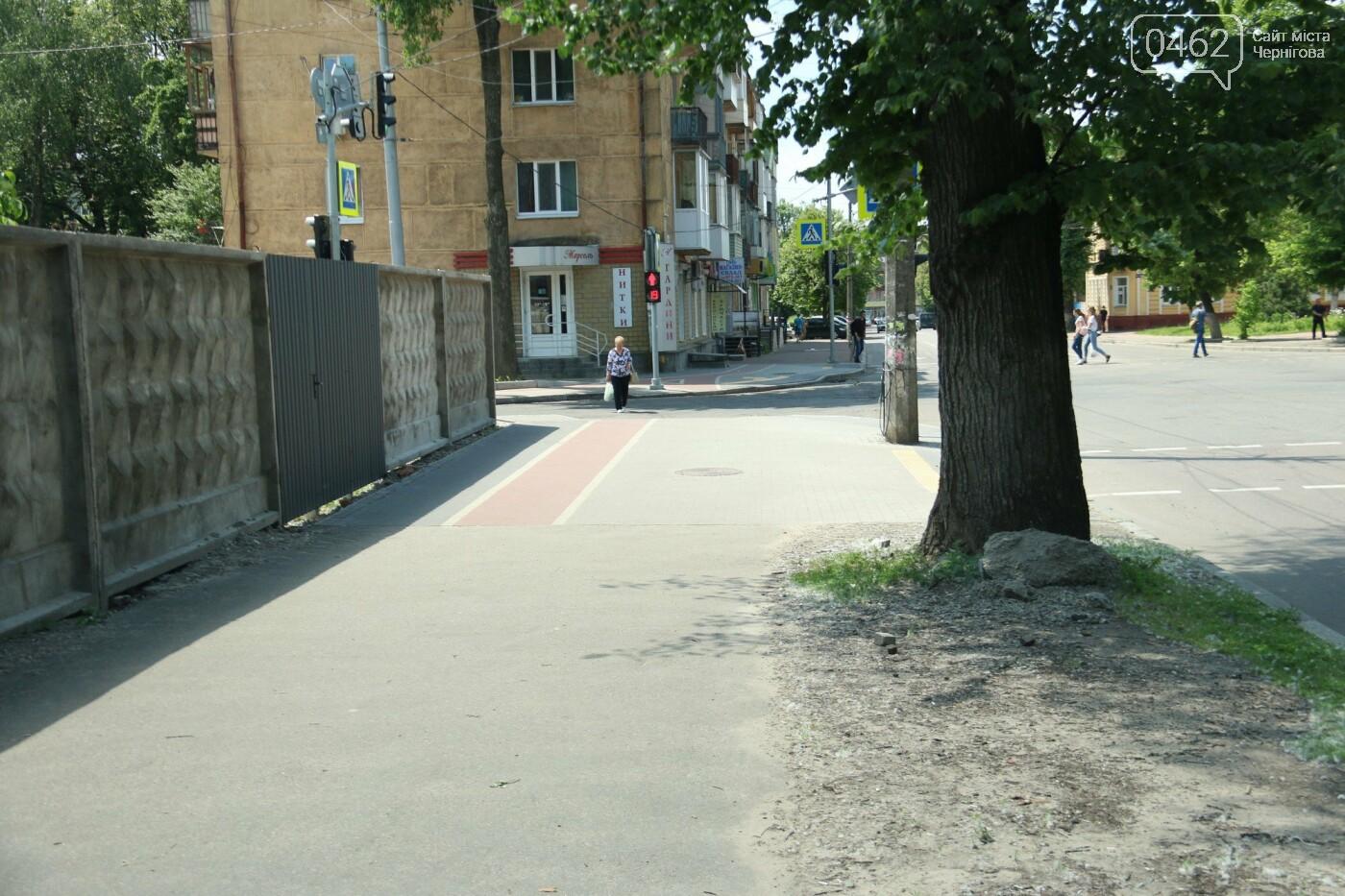 У Чернігові розпочався ремонт тротуарів на вулиці Шевченка, фото-16