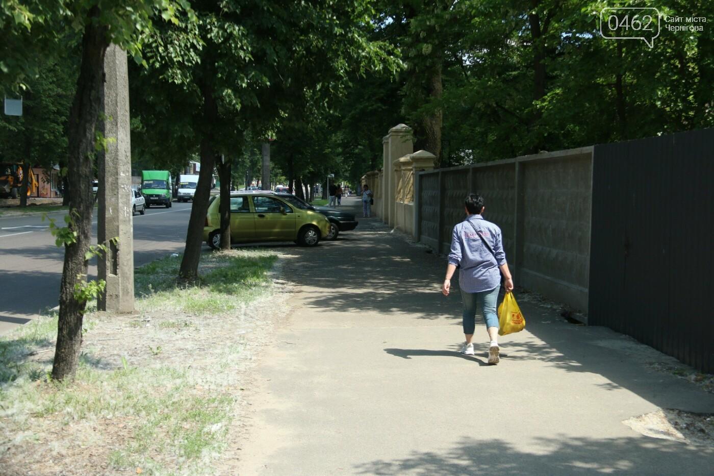 У Чернігові розпочався ремонт тротуарів на вулиці Шевченка, фото-17