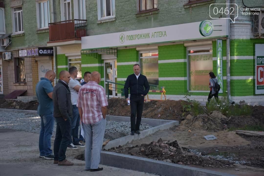 Инспектор мэр: как черниговский градоначальник стройки проверял, фото-13