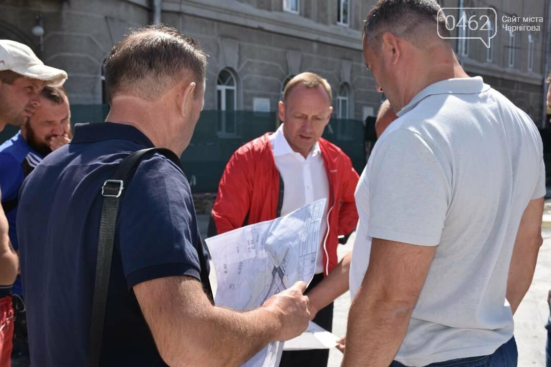 Инспектор мэр: как черниговский градоначальник стройки проверял, фото-5