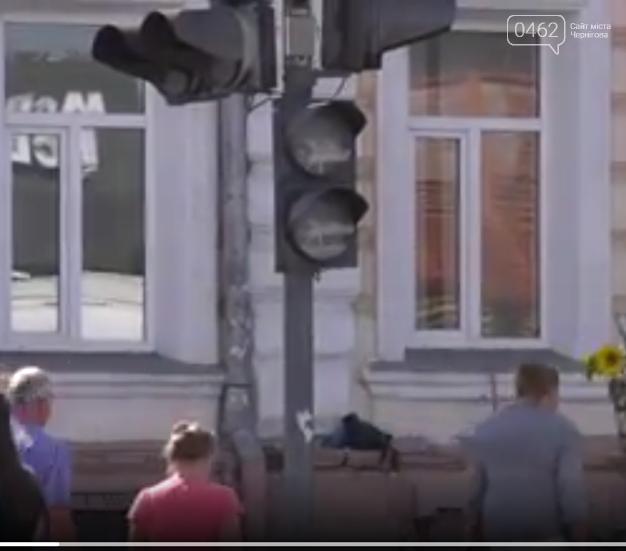 На одном из перекрестков Чернигова не работает светофор, фото-1