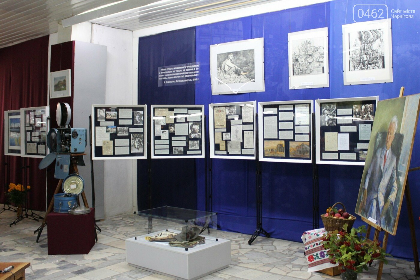 До ювілею Олександра Довженка в Чернігові відкрили виставку, фото-3