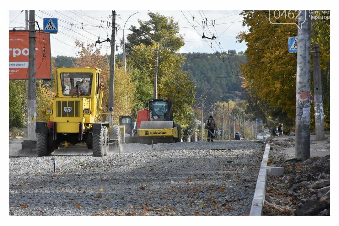 У Чернігові не встигають відкрити для проїзду вулицю Героїв Чорнобиля у зазначені мером строки, фото-1