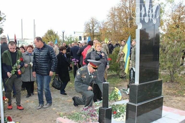 На Чернігвщині відкрили одразу кілька монументів воїнам-захисникам України, фото-7