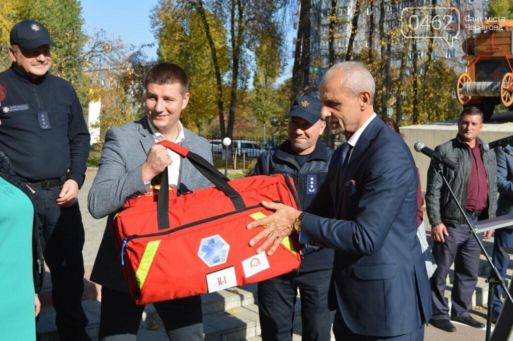 Рятувальники з Чернігівської області отримали спорядження від колег з Польщі, фото-5