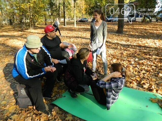У міському парку оцінювали рівень фізичної підготовленості чернігівців, фото-2