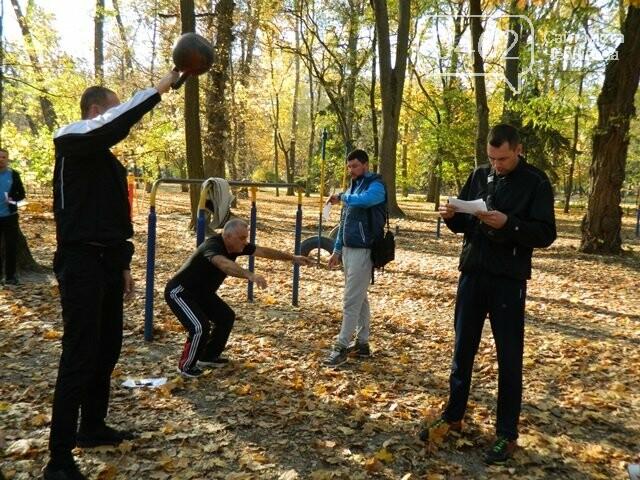 У міському парку оцінювали рівень фізичної підготовленості чернігівців, фото-3