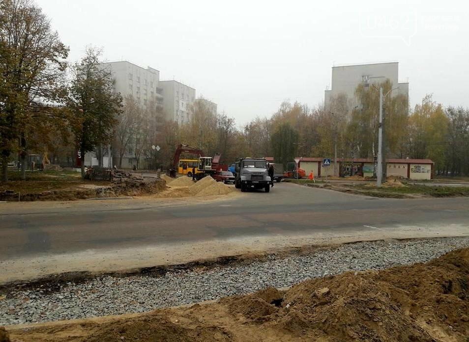 В Чернігові біля пологового будинку розширюють дорогу, фото-6