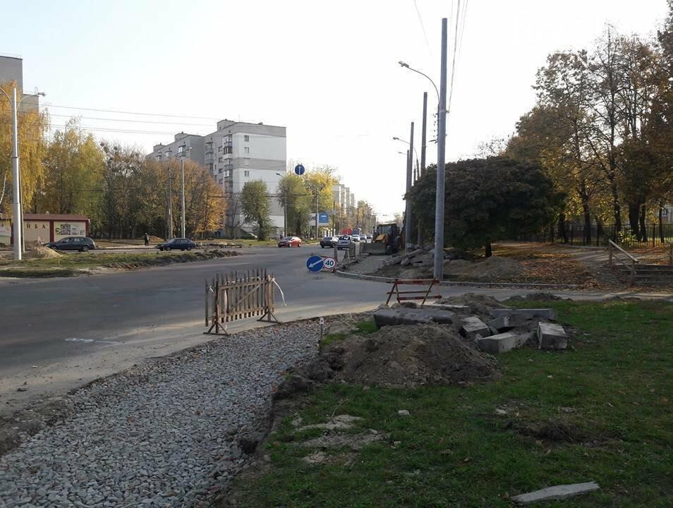 В Чернігові біля пологового будинку розширюють дорогу, фото-5