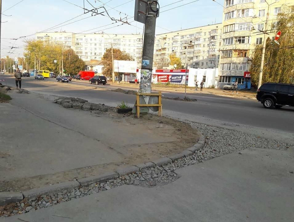 В Чернігові біля пологового будинку розширюють дорогу, фото-8