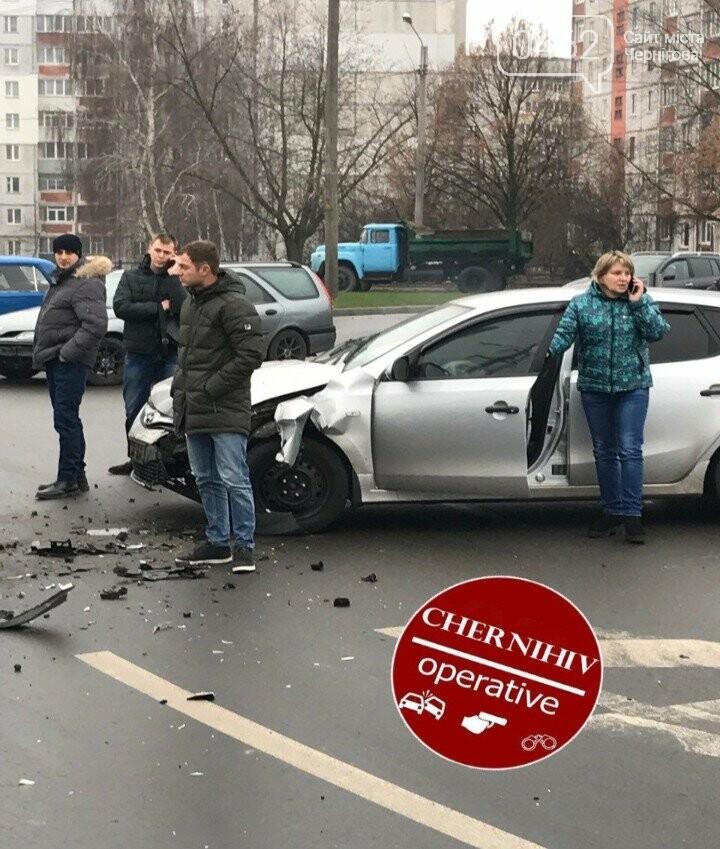 В Чернигове - ДТП с пострадавшими, фото-1