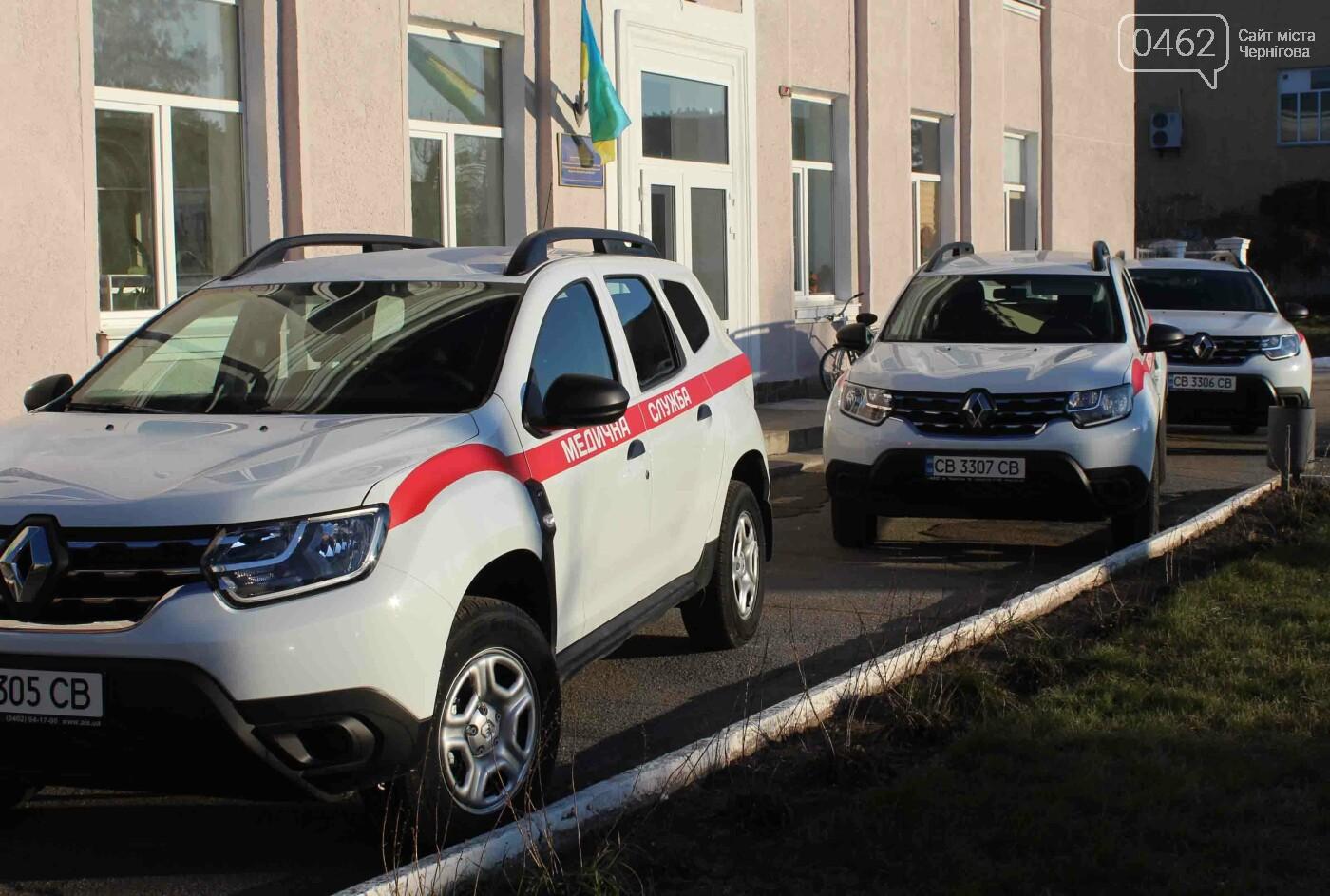 Лікарі і школярі Козелецького району отримали новий транспорт, фото-1