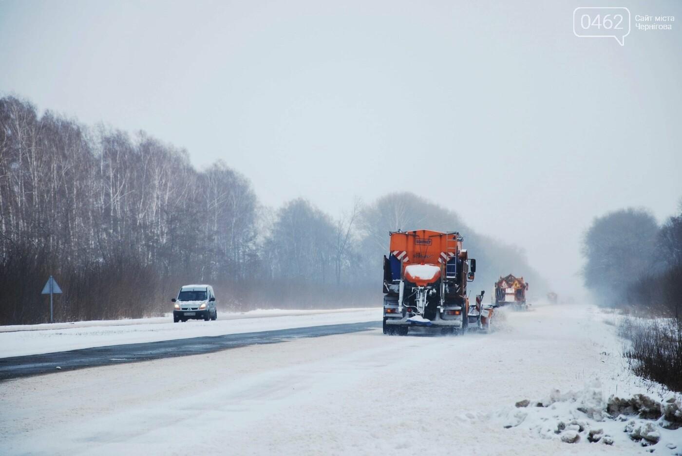 Снігоприбиральні машини на дорогах Чернігівської області не зможуть «ходити наліво», фото-2