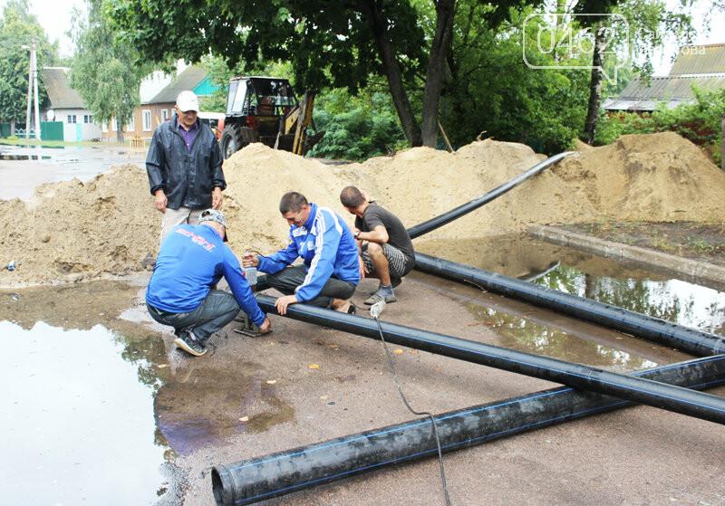 Цивілізація прийшла. В населених пунктах Чернігівської області запустили каналізацію та водогін, фото-1