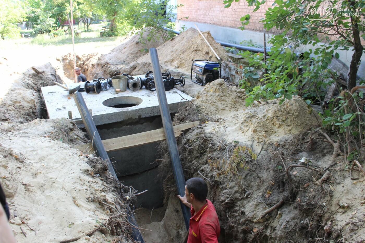 Цивілізація прийшла. В населених пунктах Чернігівської області запустили каналізацію та водогін, фото-2