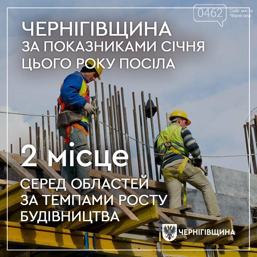 Чернігів та область в ТОП-3 по Україні за темпами будівництва, фото-1