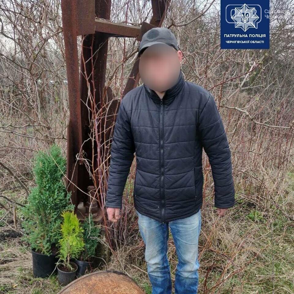 Чернігівські патрульні на гарячому спіймали ймовірного крадія, фото-1