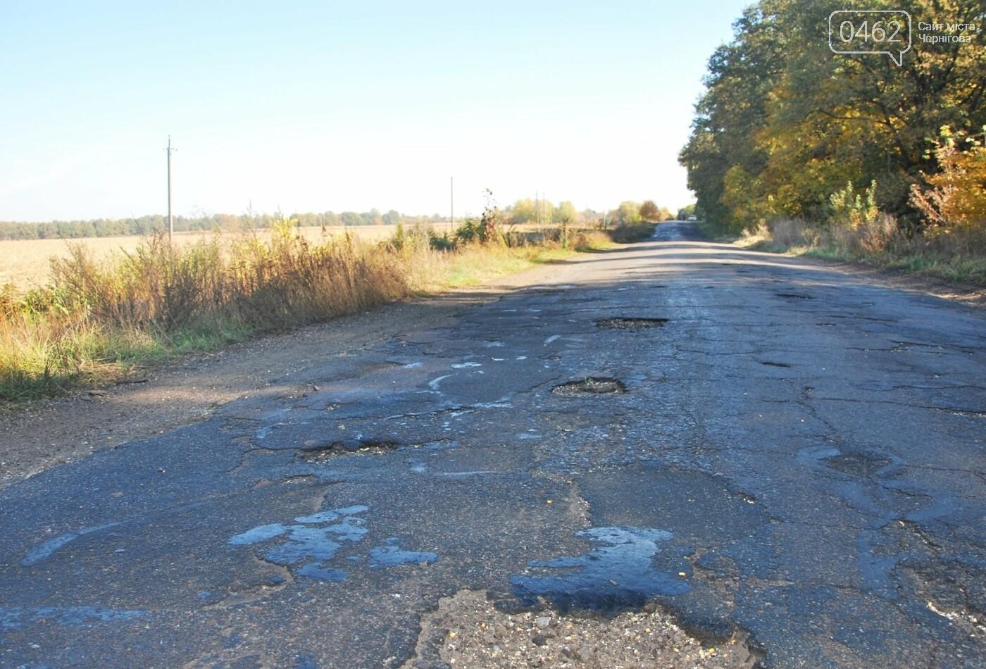 Одну з найбільш жахливих доріг Чернігівської області планують відремонтувати, фото-3