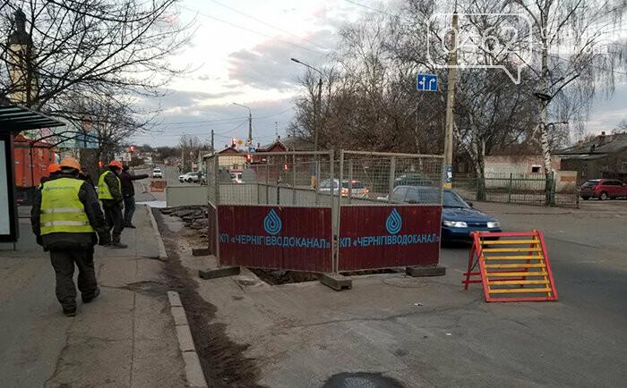 Вулицю Київську в Чернігові перекриватимуть в кілька етапів , фото-3