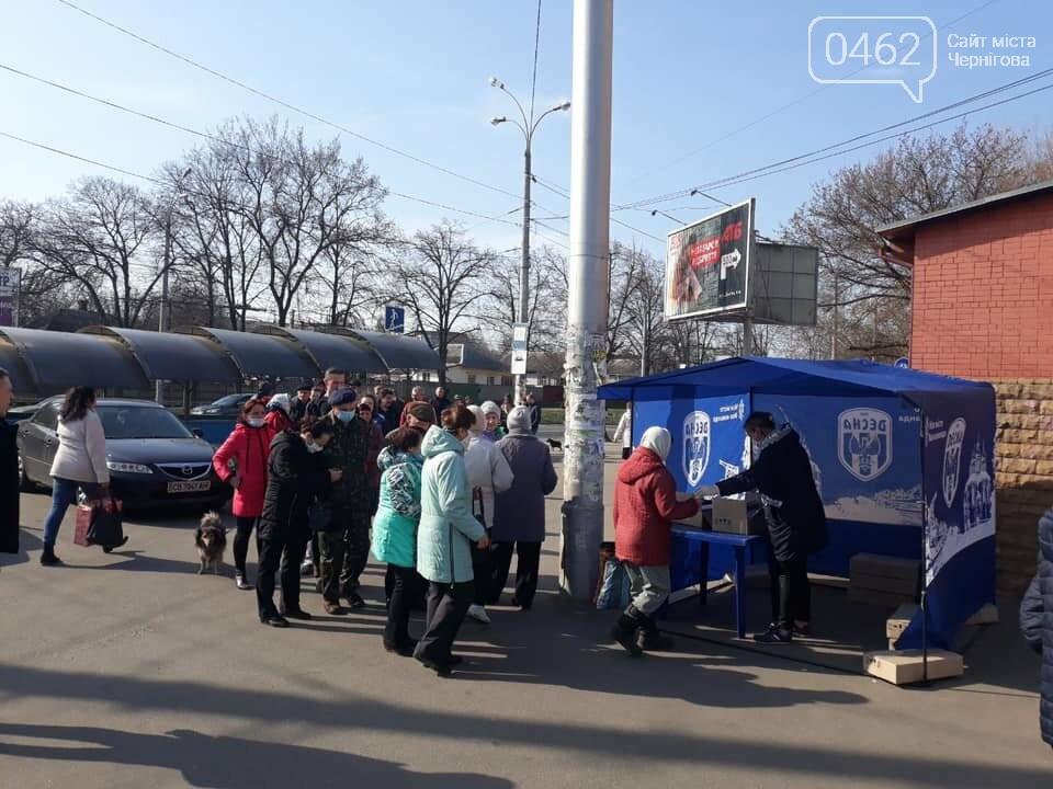 """Чернігівська """"Десна"""" відкриває пункти видачі антисептиків у різних районах міста, фото-2"""