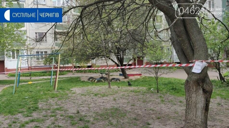 На розі П'ятницької та Київської вулиць у Чернігові дезінфікують багатоповерхівку, фото-2
