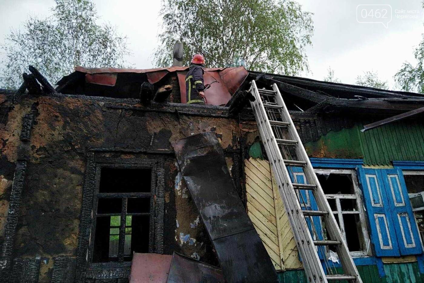 Горів приватний будинок на Чернігівщині: є загиблі, фото-2