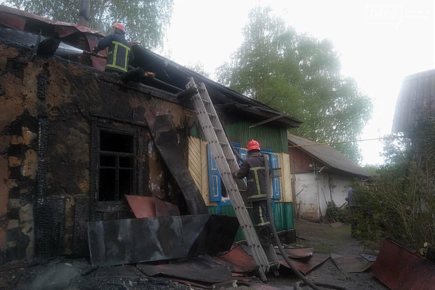 Горів приватний будинок на Чернігівщині: є загиблі, фото-1