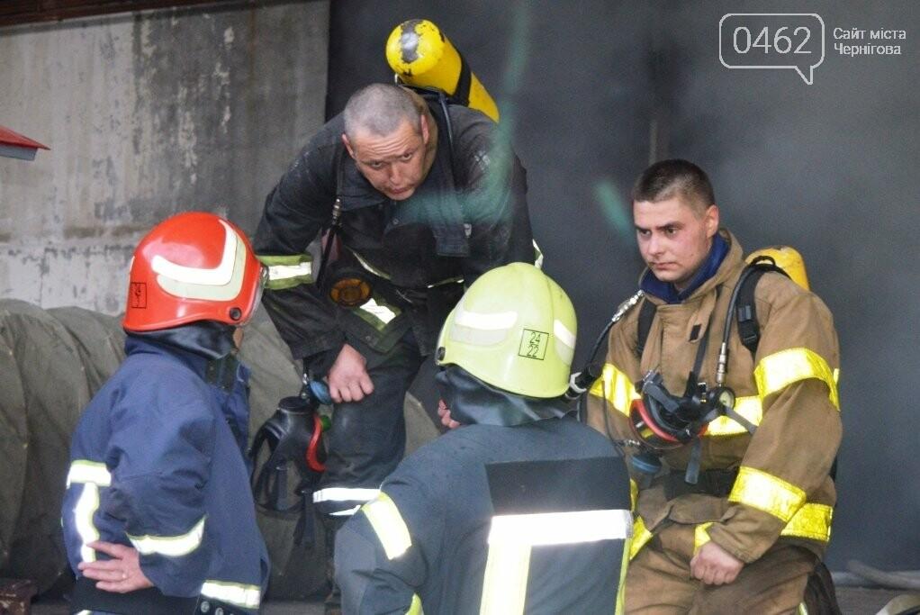 У Чернігові сьогодні горіли склади на Масанах, фото-12