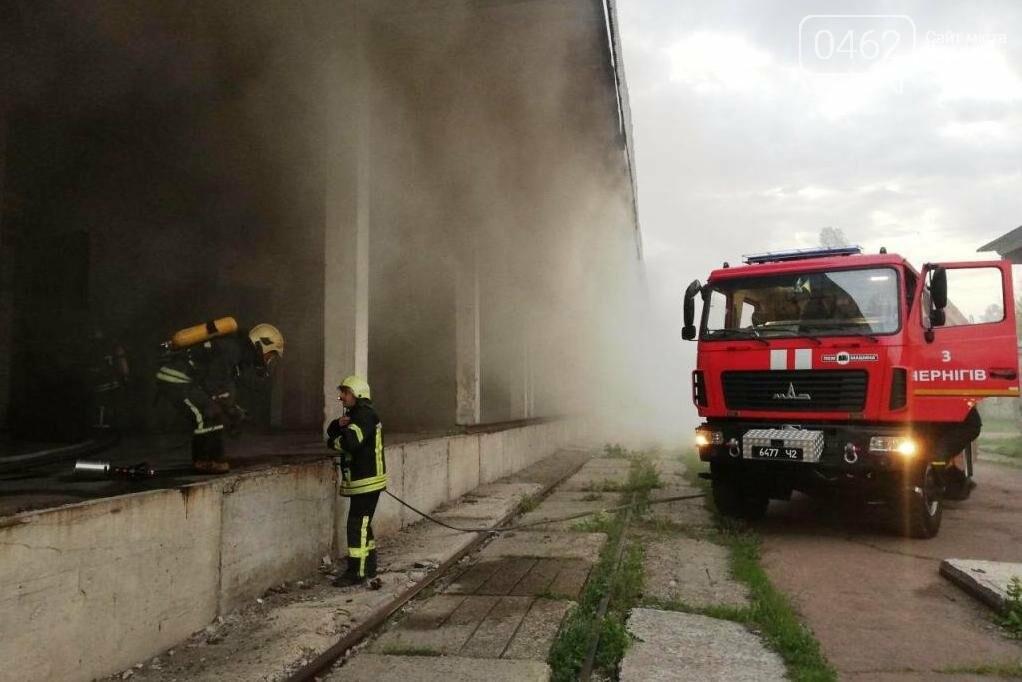 У Чернігові сьогодні горіли склади на Масанах, фото-5