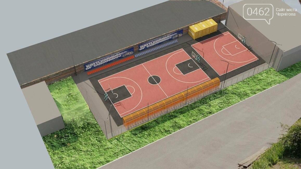 У центрі Чернігова розпочалось будівництво сучасного спортмайданчика за 5 млн грн, фото-5