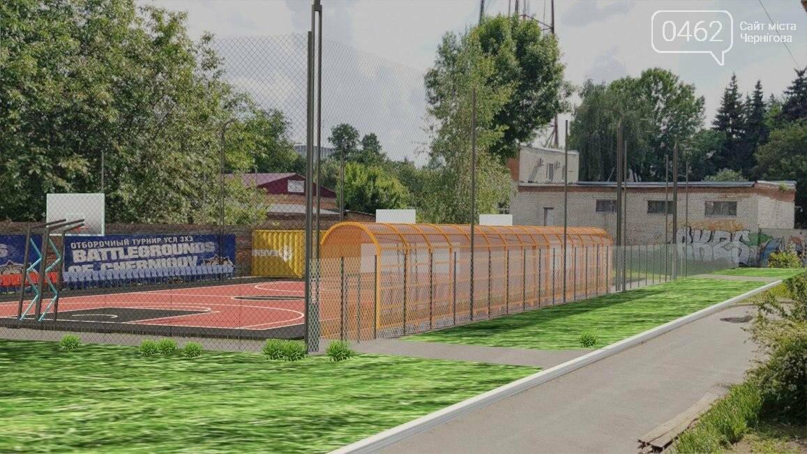 У центрі Чернігова розпочалось будівництво сучасного спортмайданчика за 5 млн грн, фото-4