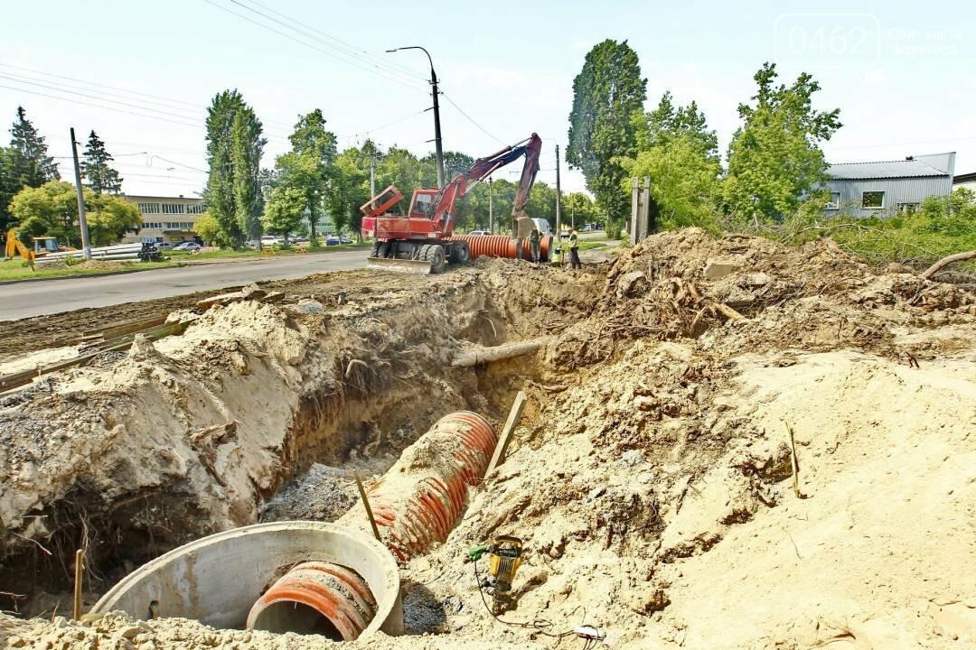 У Чернігові почали будувати дорогу на Шерстянку, фото-10