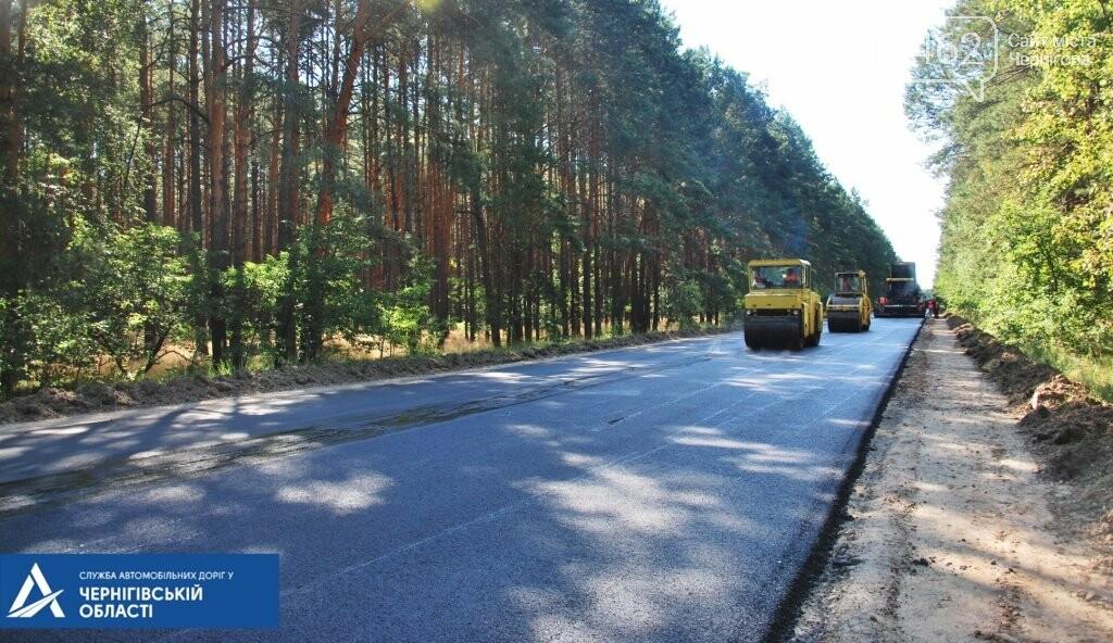 На трасі Чернігів – Гомель біля кордону ремонтують дорогу, фото-4