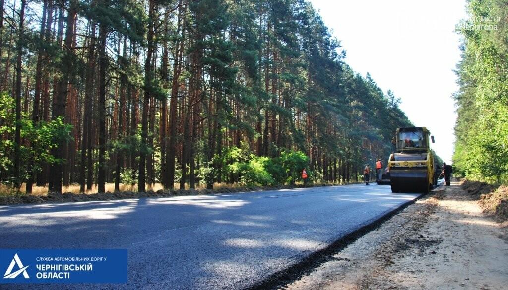 На трасі Чернігів – Гомель біля кордону ремонтують дорогу, фото-2