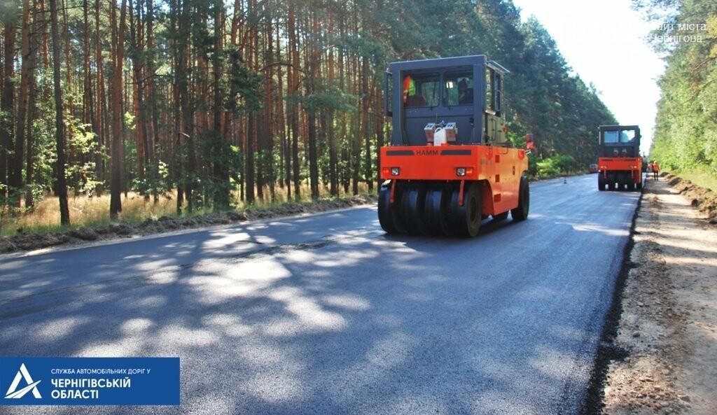 На трасі Чернігів – Гомель біля кордону ремонтують дорогу, фото-5