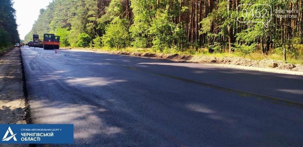 На трасі Чернігів – Гомель біля кордону ремонтують дорогу, фото-1
