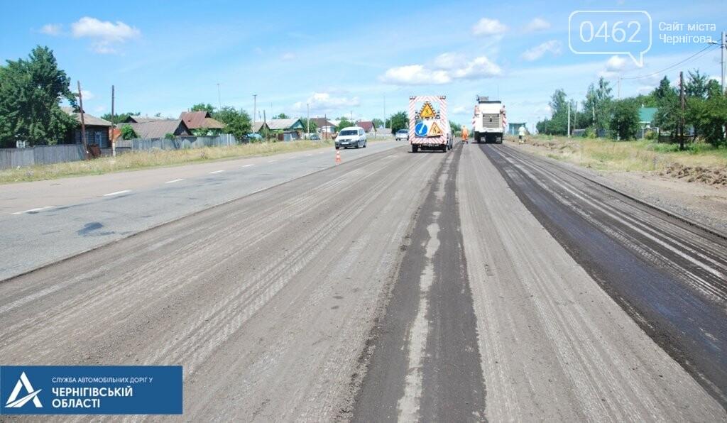 У Ріпкинському районі ремонтують дорогу ремонтують білоруси, а міст – чернігівці, фото-1