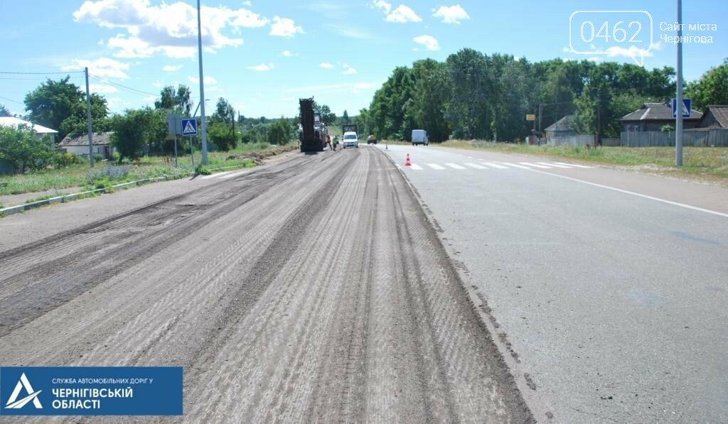 У Ріпкинському районі ремонтують дорогу ремонтують білоруси, а міст – чернігівці, фото-2