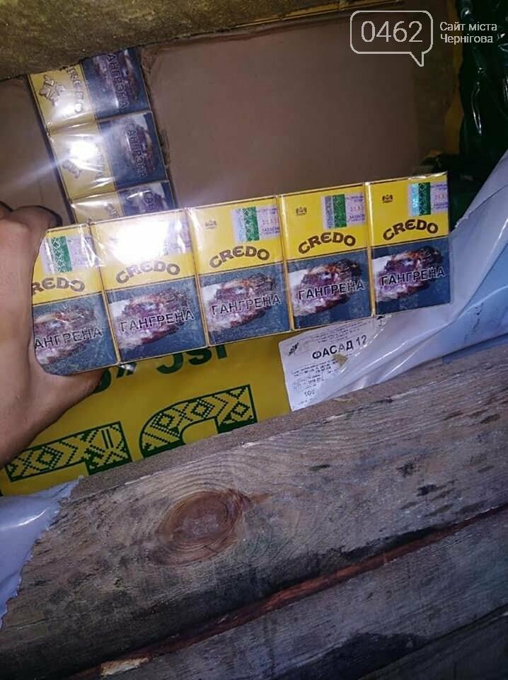 Знову контрабанда цигарок. У Чернігівську область білорус намагався ввезти незаконний вантаж, фото-7