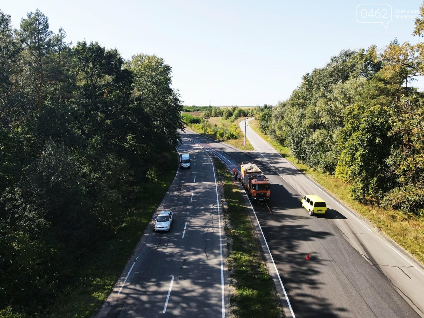 На в'їзді до Чернігова ремонтують дорогу, фото-3