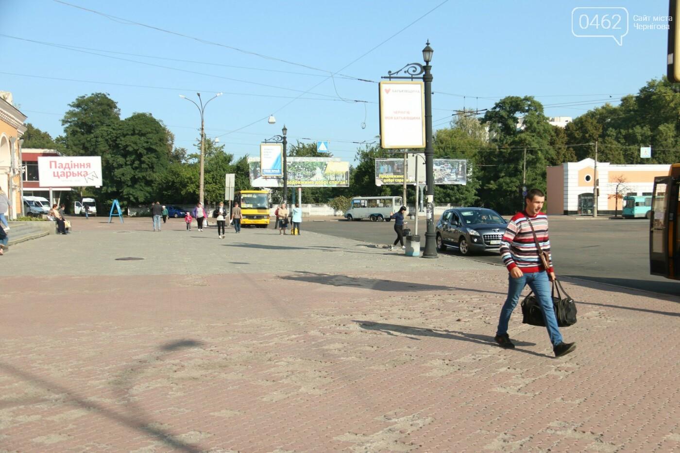 Вокзальну площу в Чернігові обіцяли відремонтувати, але не так сталося як гадалося, фото-5