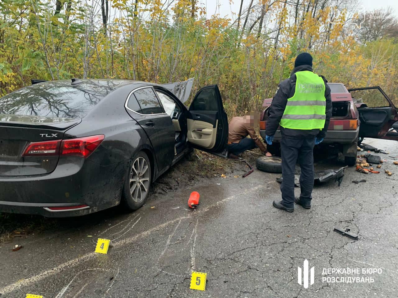 За кермом автівки, яка забрала життя двох людей, був прокурор з Чернігівської області, фото-1