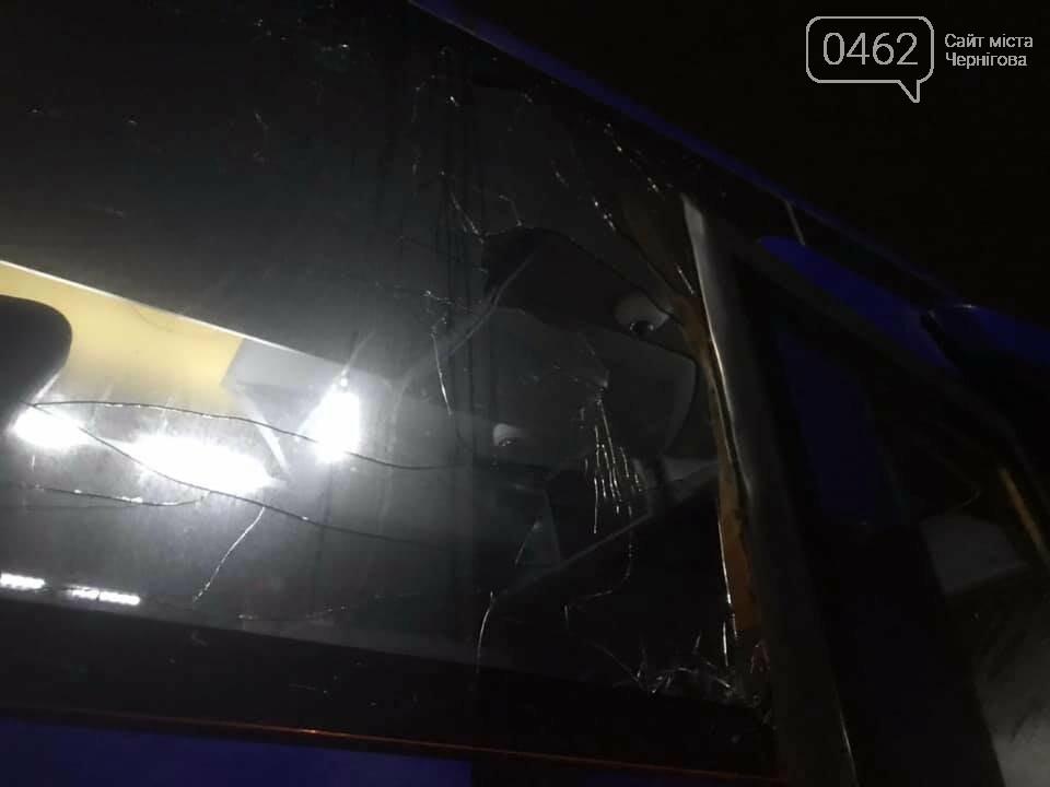 Другий за день напад на чернігівський автобус компанії «Автолюкс», фото-3