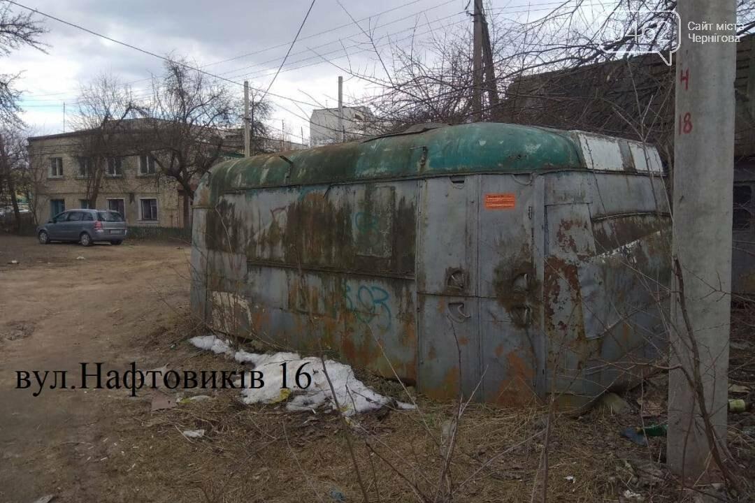 Незаконні гаражі та сараї продовжують прибирати з дворів Чернігова. У новому списку – 25 споруд, фото-3